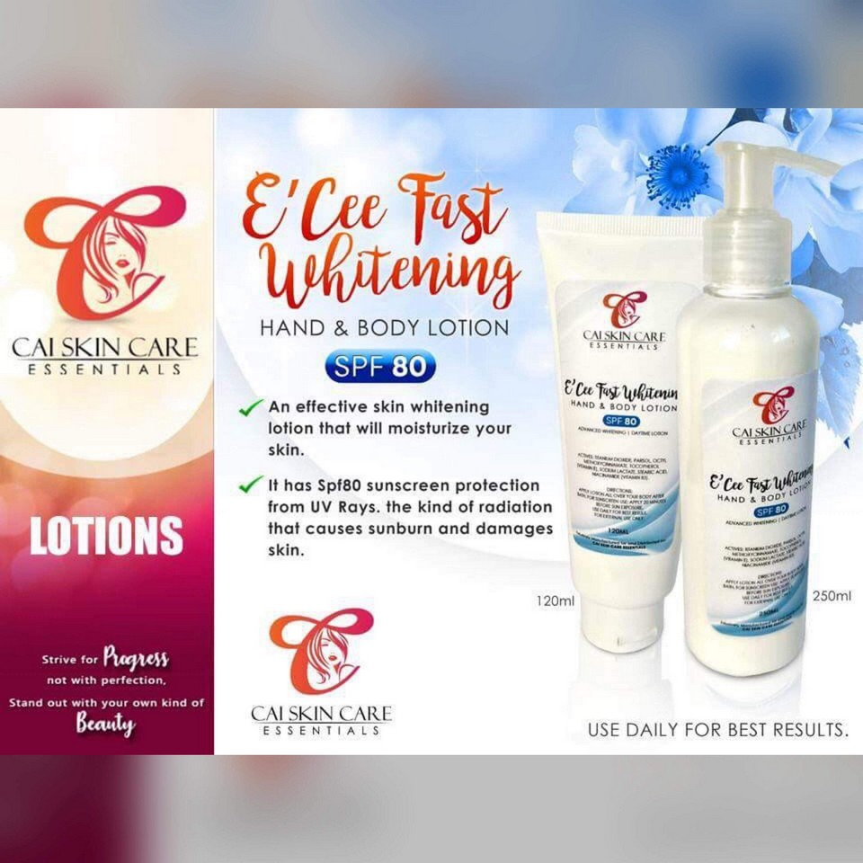 E'cee Fast Whitening Lotion